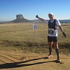 Marathon de la Terre - Afrique du Sud, au pied du rocher emblématique d'Entabeni
